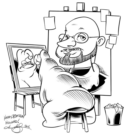 LarDeSousa-HowardCaricature-sm