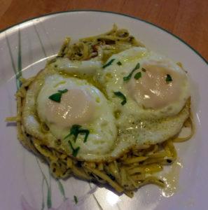 Eggs Genoa