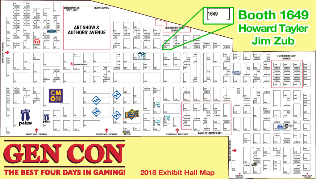 GenCon Indy! Munchkin Tavern! Worldbuilders Party! | Howard ... on anime expo map, pennsic map, history map, necc map, pax map, sxsw map, dragon con map, origins map, rhinebeck map,